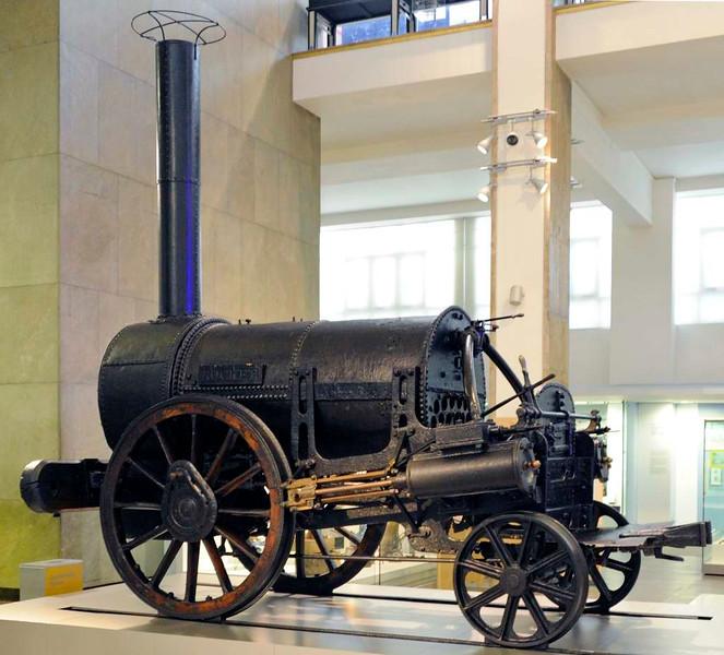 Rocket, Science Museum, London, 26 April 2013