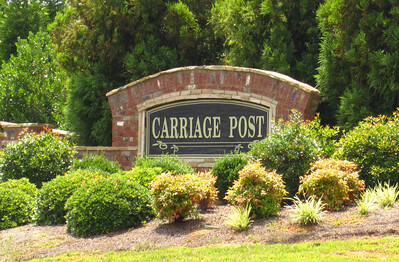 Carriage Post Cumming GA (1)