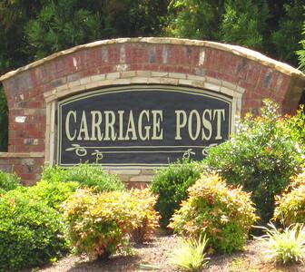 Carriage Post Cumming GA (2)
