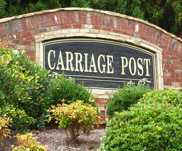 Carriage Post Cumming GA
