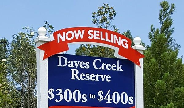 Daves Creek Reserve Cumming Georgia