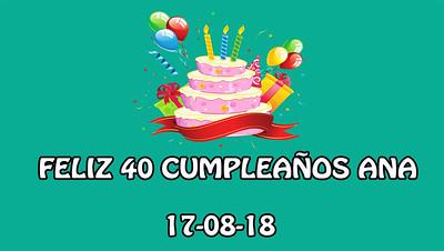 Cumpleaños Ana