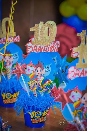 16. Detalles del Cumple No. 10 de Brandon
