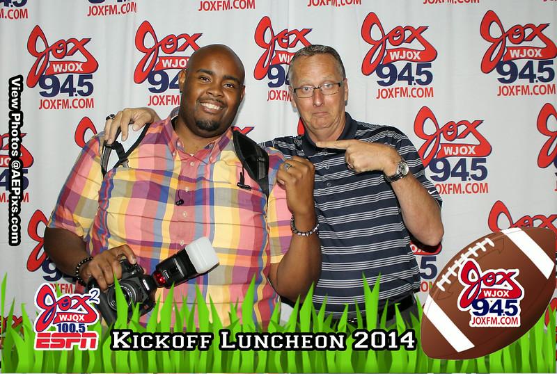 Jox Kickoff Luncheon 2014