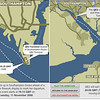 QE2 Sailing route as planned. From BBC site.