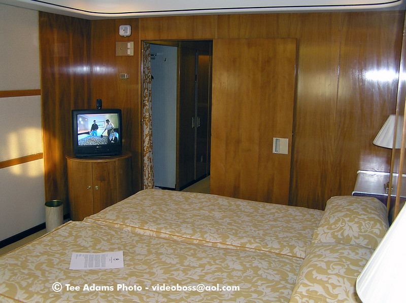 1 Deck 1031. Parent's cabin 1969, but photo 12/2004.