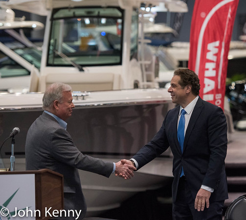 Cuomo At Javits Center Boat Show Opening 1-25-17