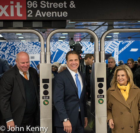 Cuomo - Second Avenue Subway Preview 12-22-16