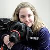 Olivia Lambert of Leominster and her NEADS dog Rigney