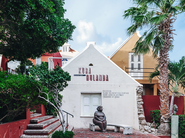 The Kura Hulanda Museum in the Otrobanda District, Willemstad.