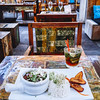 Ginger Restaurant in the Pietermaai District serves an Asian-Caribbean Cuisine.