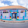 Building of the former St. Albertus College now a home to Kura di Arte, a school for young performing arts in the Pietermaai District in the city of Willemstad in Curacao.