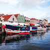 The Floating Market in Willemstad is where Venezuelan merchants sell their fresh fruits and vegetables from brightly colored small fishing boats.