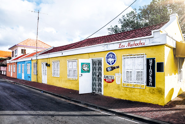 Small bar in the Scharloo District in Willemstad, Curacao.