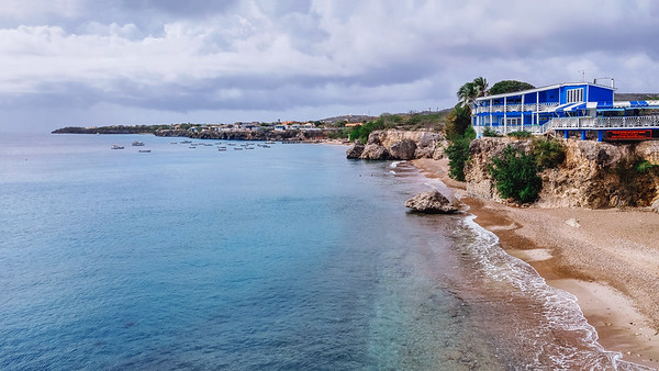 Playa Forti in Curacao.