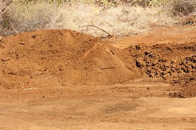 Stealing topsoil
