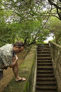 Pos di Pia at Fort Nassau