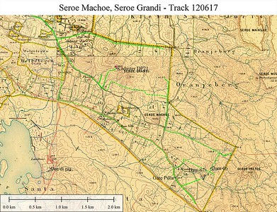 Werbata map 1909 Sereo Grandi and Sereo Machoe areas
