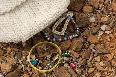 Stolen jewels. A young girls treasures lying in the mondi.