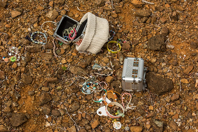 Stolen jewels. A young girls treasures lying in the mondi. The owner of the jewels was found via Facebook! Social media saves the day!