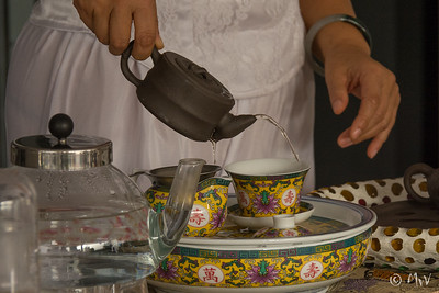 Chinese Tea Ceremony (Lina's farewell party)