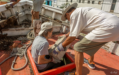 Removing the ballast