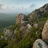The vista from Mount Christoffel, Christoffel Park