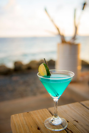Blue Curacao at Bij Blauw