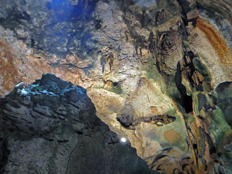 This was inside a large cave