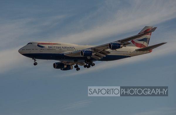British Airways 747-400