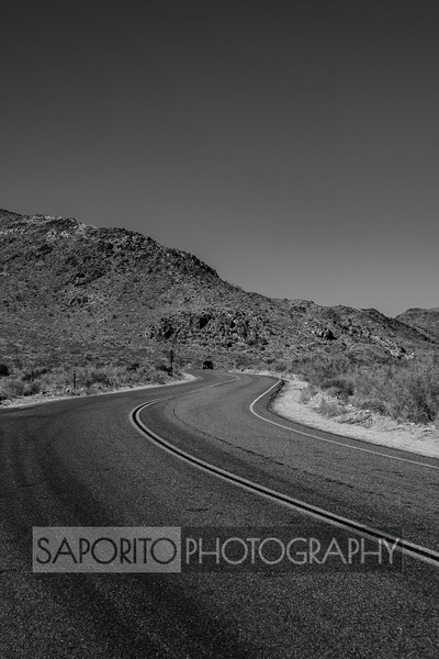 On the Road - Death Valley