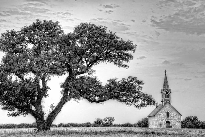 The Old Rock Church, Cranfills Gap