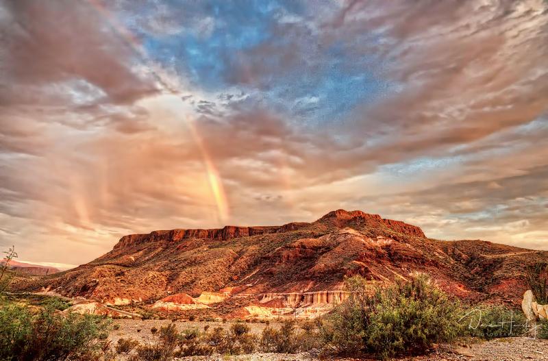 Lajitas Sunrise Rainbow