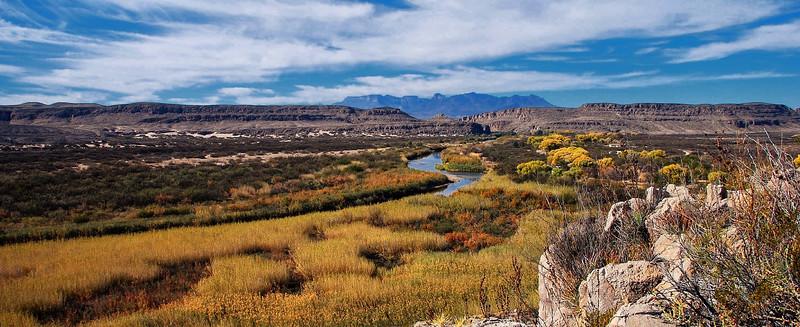 Rio Grande and its floodplain, Big Bend National Park
