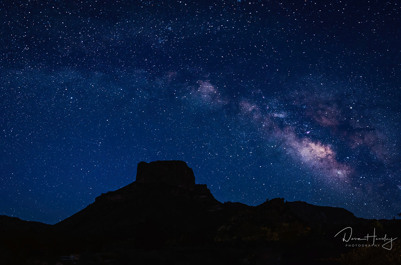 Milky Way over Casa Grande