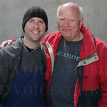 Bobby Benjamin of Butchertown Grocery and Doug Weede.