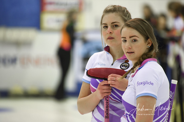 Mili Smith (Lead) and Hailey Duff (2nd) - Team Katie Murray