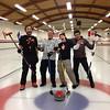 2011-12 Monday Night League first half Best of the Best winners!  Team VanWieringen.  Left to right:<br /> Chad Hessoun, Barry VanWieringen, Meghan Nelson and Josh Freeman