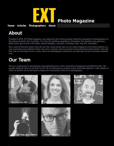 Cultural Coordinator    EXT  Photo  Magazine