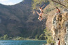 This was the smaller jump.  still awesome!!  Our four days at San Marcos La Laguna involved the daily grind of sleeping in, swimming in the crystal clear waters of Laguna Atitlan, eating great food, playing pickup basketball games with local hot-shots, and cliff jumping.  cliff jumping!!