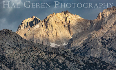 Early Morning Ridgeline just north of Mt Whitney 1907S-V13