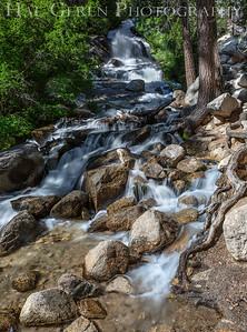 Stream on Mt Whitney Portal Trail 1907S-WS1