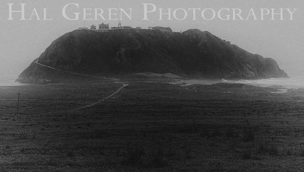 Big Sur Lighthouse Station Big Sur, California 1305C-BSLS3BW2