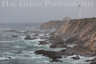 Point Arena Lighthouse Pt Arena, California 1906M-PALS1