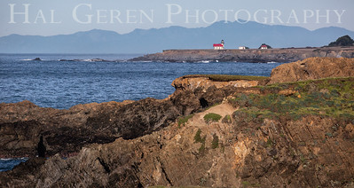 Point Cabrillo Lighthouse Mendocino Coast 1812M-PCL1