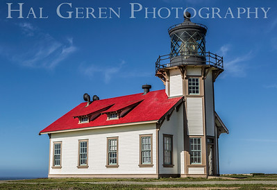 Cabrillo Point Lighthouse Mendocino, CA 1501C-CPL1