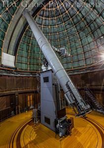 Original Telescope at Mt Hamilton Observatory 1909MH-S36I
