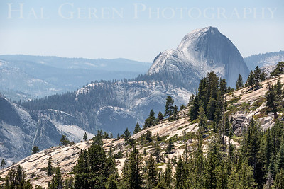 Half Dome from Olmstead Point Yosemite, California 1707S-HD5
