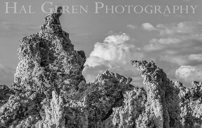 Tufa Formations Mono Lake, California 1707S-T6BW1