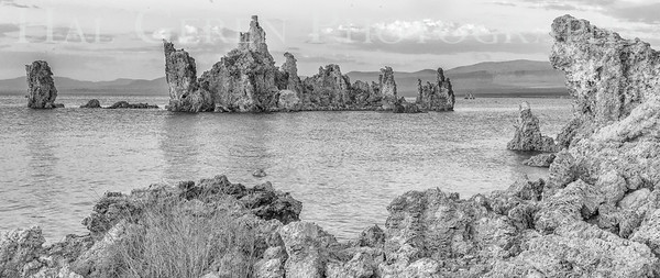 Tufa Formations Mono Lake, California 1707S-T5BW1